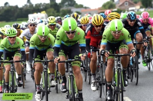 Cannondale-Garmin attack on stage five of the 2015 Tour de France